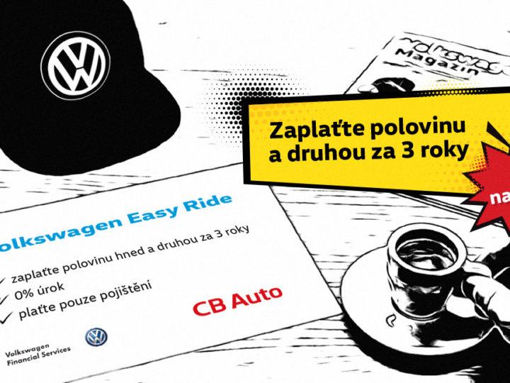 Volkswagen Easy Ride – náš vlastní produkt financování